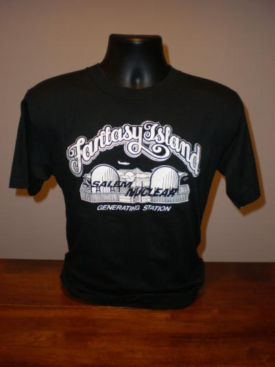 Vintage Fantasy Island Salem Nuclear T-Shirt