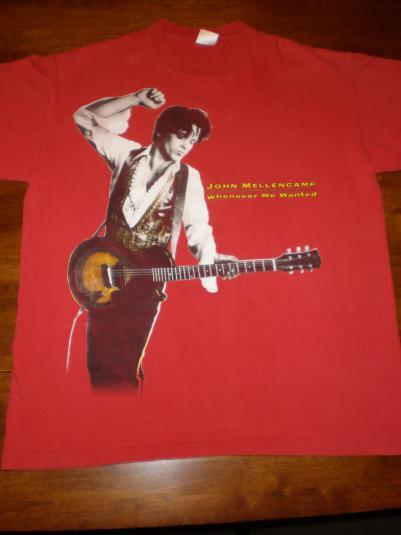 Vintage John Cougar Mellencamp Tour T-Shirt