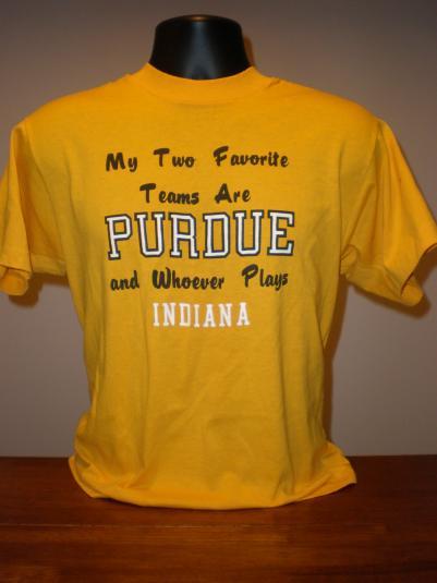 Vintage Purdue University Boilermaker Indiana T-Shirt