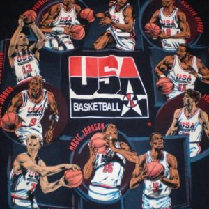 Vintage NBA USA Dream Team T-Shirt Michael Jordan