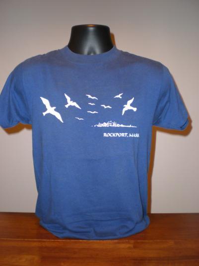 Vintage Rockport, Massachusetts Tourist T-Shirt