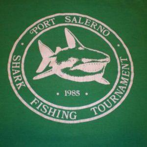 Vintage Shark Fishing Tournament T-Shirt Port Salerno