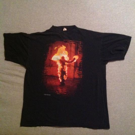 Vintage RAMMSTEIN 1998 Blue Grape T-Shirt 90s metal
