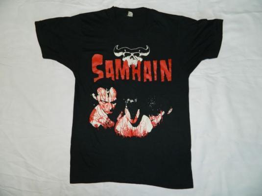 Vintage SAMHAIN INITIUM 1984 T-Shirt 80s Original