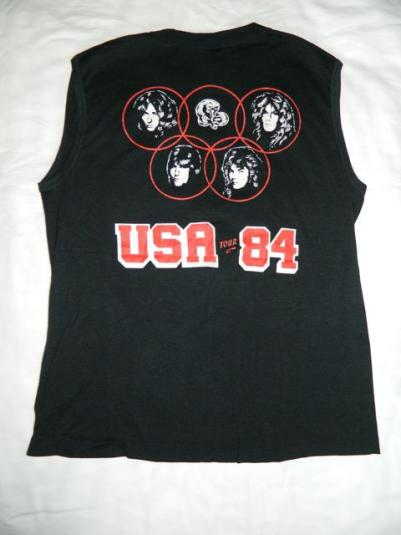 Vintage WHITESNAKE 1984 USA TOUR T-Shirt