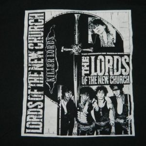 Vintage LORDS OF THE NEW CHURCH 80s T-Shirt STIV BATORS tour