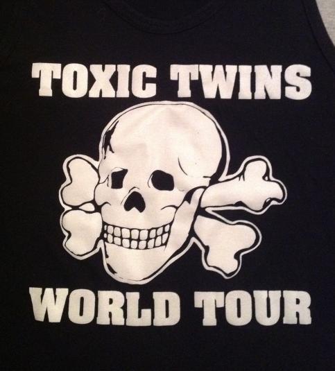 Vintage AEROSMITH 80s TOXIC TWINS TOUR TANK TOP t-shirt