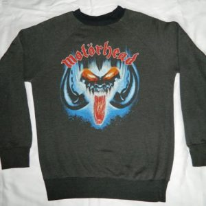 vintage MOTORHEAD 1987 SWEATSHIRT shirt Eat The Rich 80s
