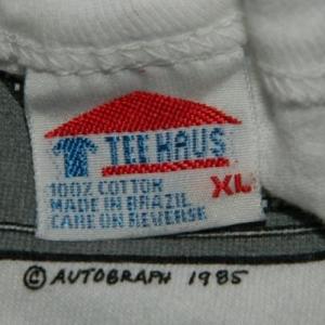 Vintage AUTOGRAPH TURN IT UP 1985 TOUR T-Shirt