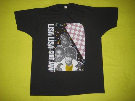 vintage LISA LISA & CULT JAM 1987 SPANISH FLY TOUR T-Shirt
