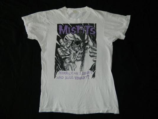 Vintage MISFITS 80S ORIGINAL T-Shirt Concert Mommy…