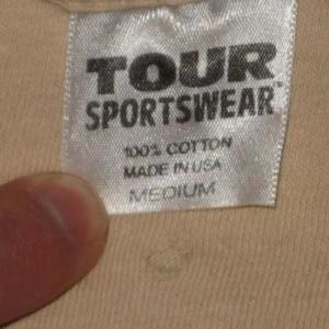 vintage JETHRO TULL ROADIE'S 1982 TOUR T-Shirt Crew Humped