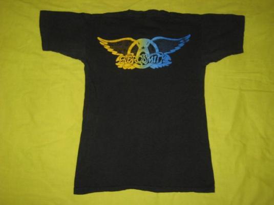 vintage AEROSMITH 1977 U.S. ROCKS TOUR T-Shirt 70s concert