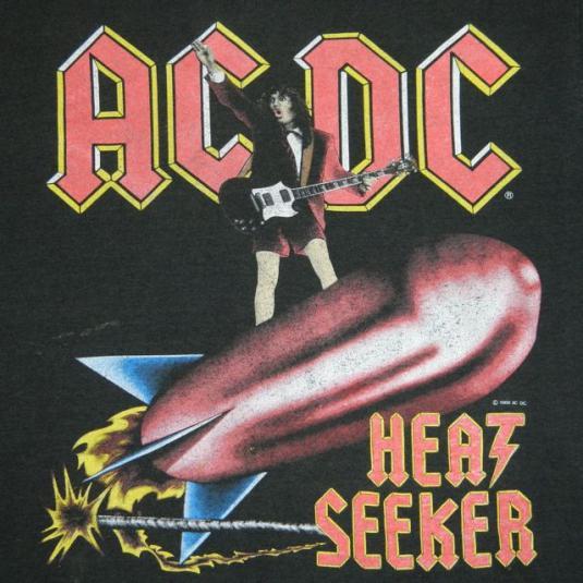 Vintage AC/DC 1988 Tour T-shirt