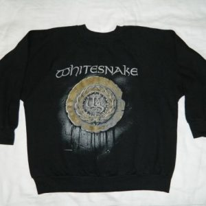 Vintage WHITESNAKE 1987 TOUR SWEATSHIRT concert t-shirt 80s