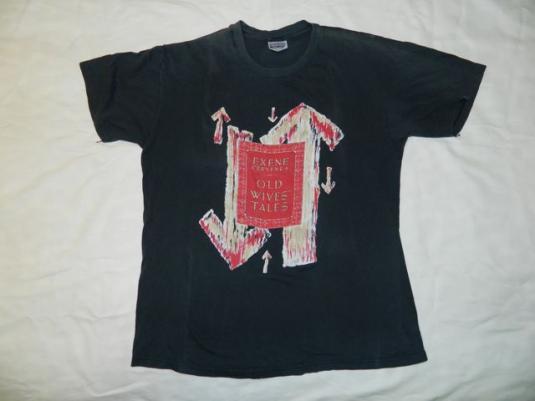 Vintage Exene Cervenka 1989 Old Wives' Tale T-shirt X