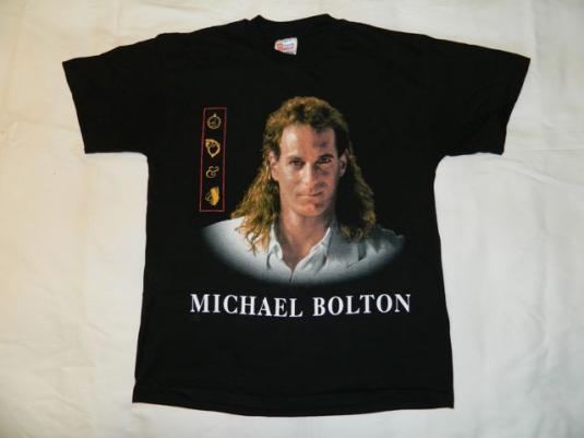 Vintage MICHAEL BOLTON THE HOLIDAY TOUR T-SHIRT 1993-1994 L