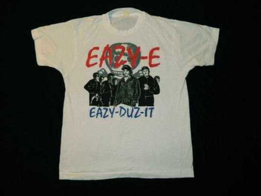 Vintage EAZY-E EAZY-DUZ-IT 80s T-Shirt