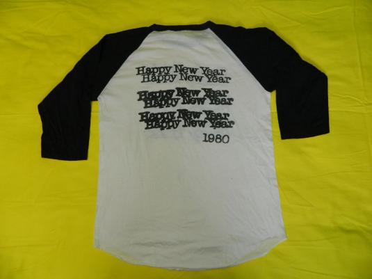 Vintage CHEAP TRICK 1980 HAPPY NEW YEAR CONCERT T-SHIRT tour
