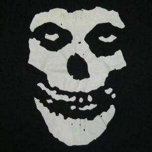 Vintage 80S MISFITS SCREEN STARS CRIMSON GHOST T-Shirt L