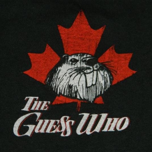 Vintage THE GUESS WHO 1987 TOUR T-Shirt BTO