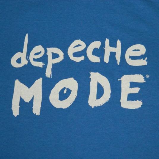 Vintage DEPECHE MODE DEVOTEE CREW T-SHIRT Tour XL