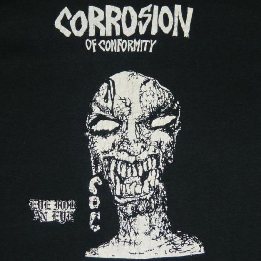 Vintage CORROSION OF CONFORMITY 1984 T-Shirt C.O.C.