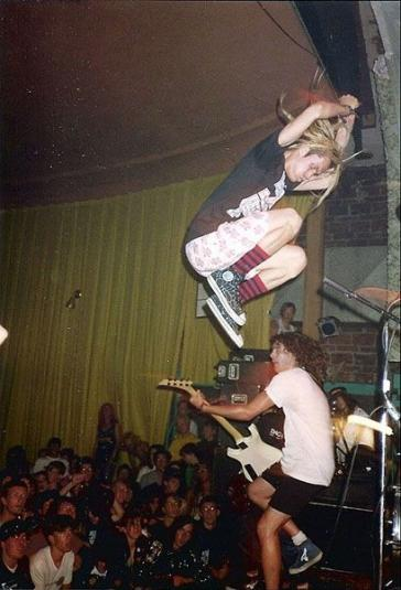 Vintage SNFU 80S TOUR T-Shirt Concert Mr. Chi Pig punk