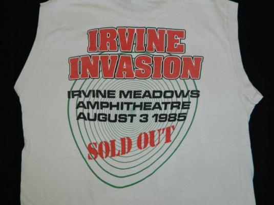 Vintage RATT 80s IRVINE MEADOWS CONCERT T-Shirt tour 1985