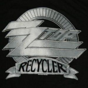 Vintage ZZ TOP RECYCLER TOUR 1990 T-Shirt XL concert