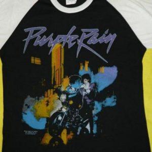 Vintage PRINCE PURPLE RAIN SMALL 1984 Tour JERSEY T-Shirt