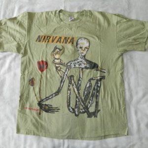 Vintage NIRVANA INCESTICIDE 1993 ORIGINAL T-Shirt tour