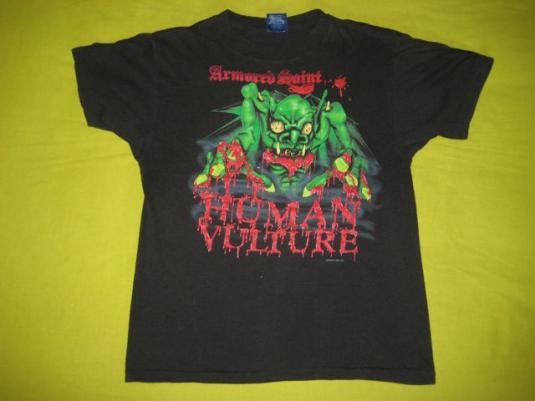 vintage ARMORED SAINT 1987 RAISING FEAR TOUR T-Shirt concert