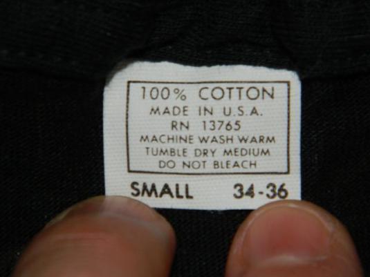 Vintage LYNYRD SKYNYRD 70s SMALL Tour T-Shirt MINT!