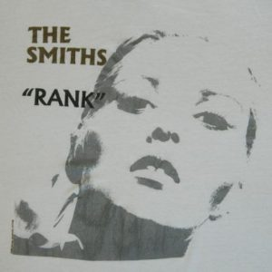 "Vintage THE SMITHS ""RANK"" 1988 Promo T-Shirt"