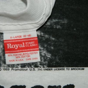 Vintage ROLLING STONES 1989 T-Shirt NOS XL
