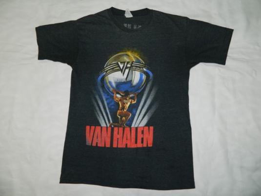 Vintage VAN HALEN 1986 5150 Tour T-Shirt 80s concert