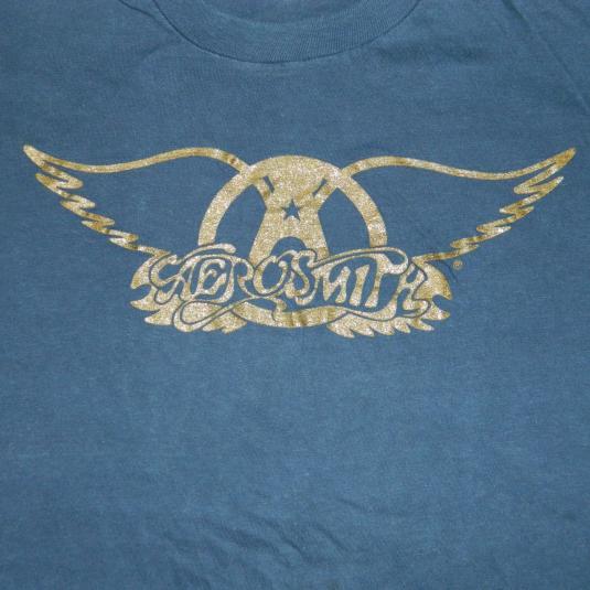 Vintage 70S AEROSMITH TOUR T-Shirt