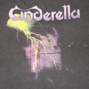 vintage CINDERELLA THRASHED 1986 NIGHT SONGS T-Shirt 80s