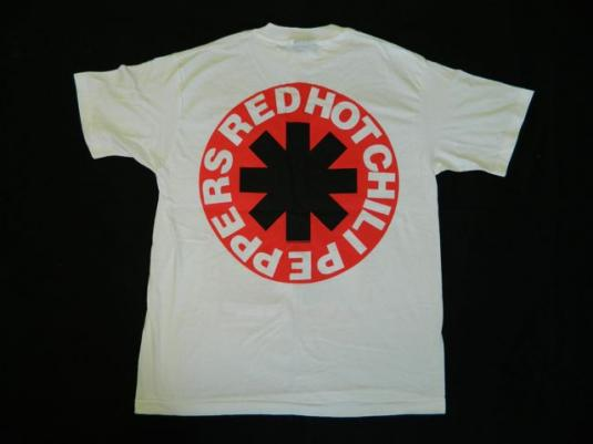 Vintage NOS RED HOT CHILI PEPPERS 1992 BIKINI T-Shirt Tour