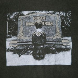 Vintage DEAD KENNEDYS 80S T-SHIRT XL ORIGINAL