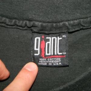Vintage DANZIG 1993 THRALL DEMONSWEATLIVE TOUR T-Shirt