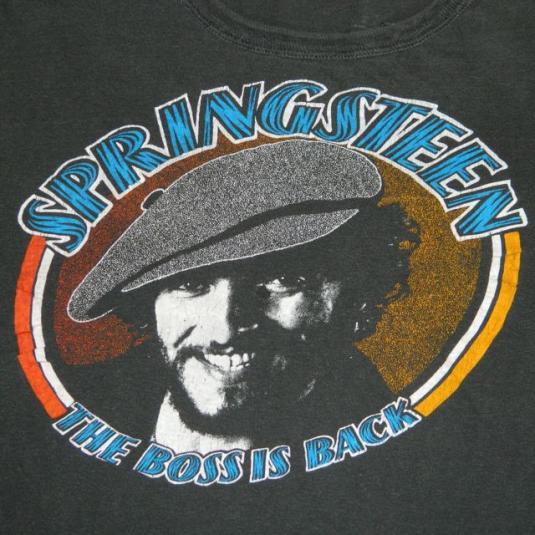 vintage BRUCE SPRINGSTEEN 1978 TOUR T-Shirt 70s concert