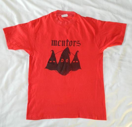 Vintage MENTORS T-Shirt 80s tour
