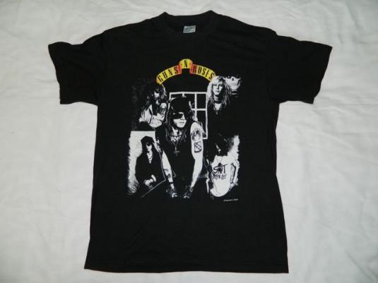 Vintage GUNS N ROSES 1988 Appetite For Destruction T-Shirt L