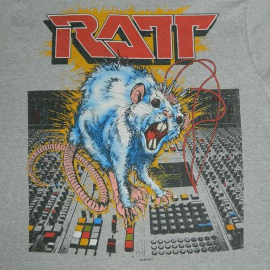 Vintage RATT N ROLL 1984 TOUR T-Shirt 80s Original concert