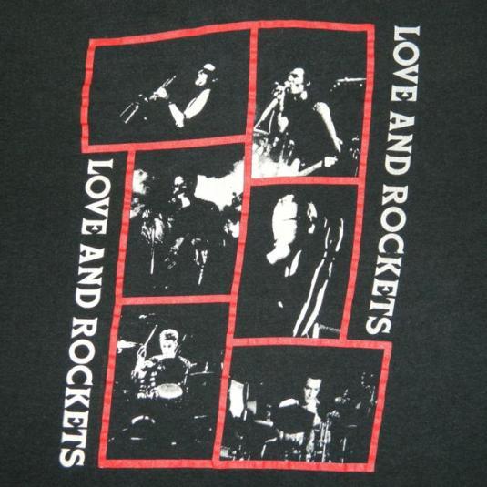 Vintage Love and Rockets 1989 Tour T-Shirt