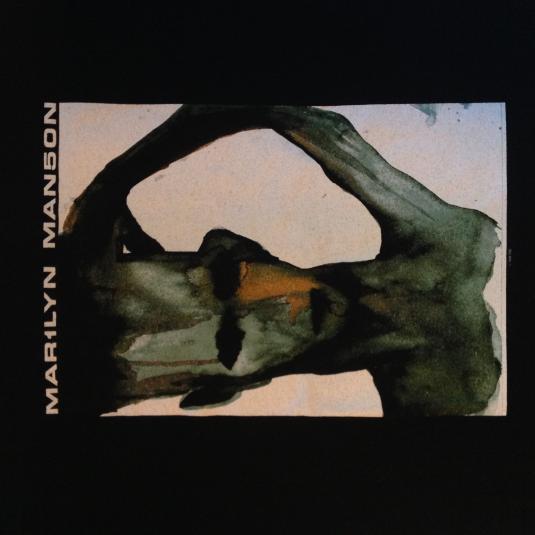 Vintage MARILYN MANSON 90sMechanical Animals promo T-shirt