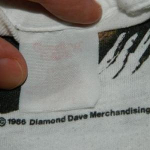 Vintage DAVID LEE ROTH Eat Em And Smile 1986 Tour T-Shirt