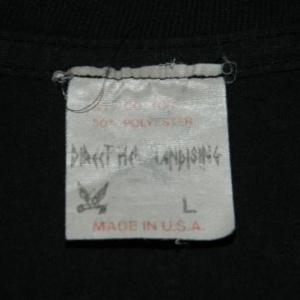 Vintage AGENT ORANGE 80S T-Shirt SKATE ROCK PUNK BAND